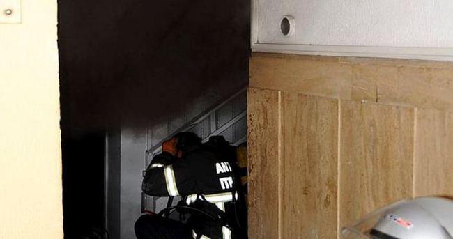 Kaymakamlık binasında korkutan patlama