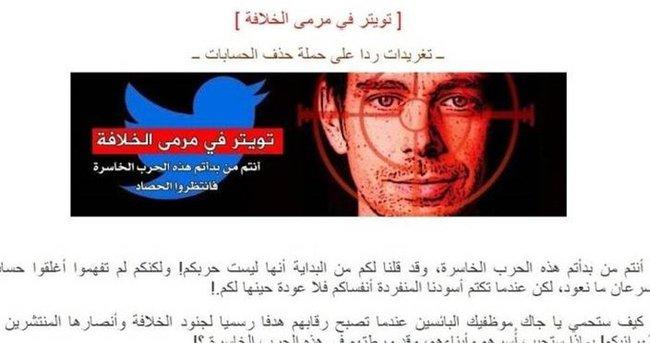 IŞİD'den Twitter'ın CEO'suna tehdit