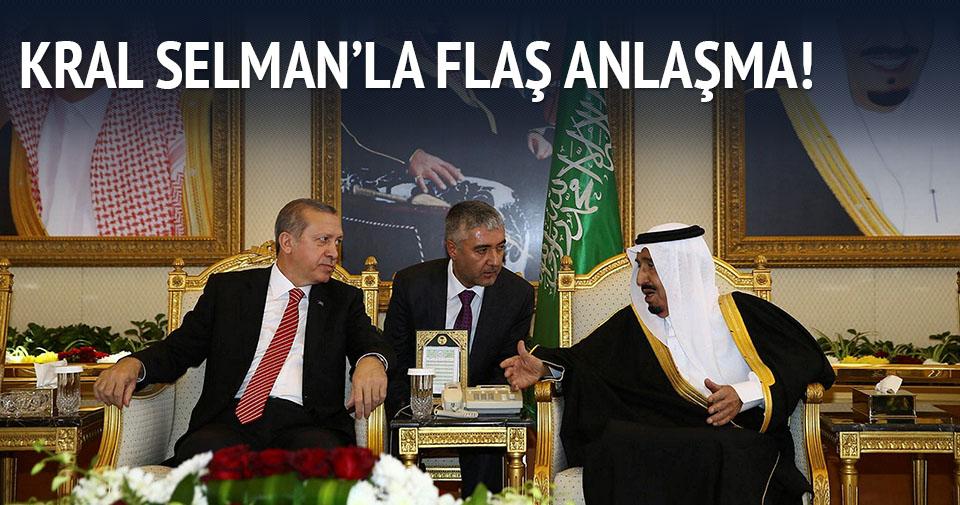 Erdoğan ve Selman Suriye için anlaştı