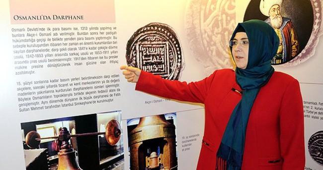 Osmanlı'nın darphanesi artık kültür basacak