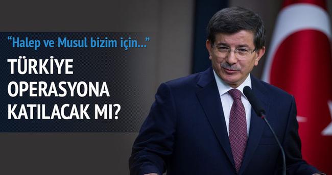 Başbakan açıkladı! Türkiye Musul harekatına katılacak mı?
