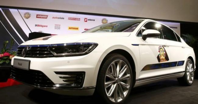Avrupa'da yılın otomobili Volkswagen oldu