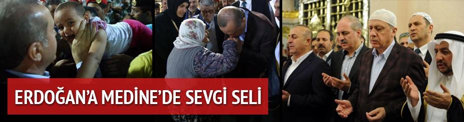 Cumhurbaşkanı Erdoğan huzurda namaz kıldı