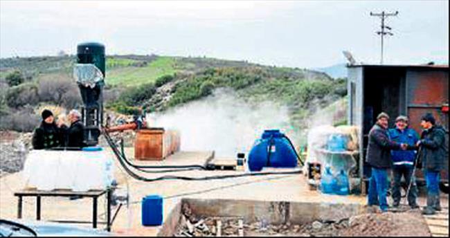 Jeotermal kuyuları faaliyete geçecek