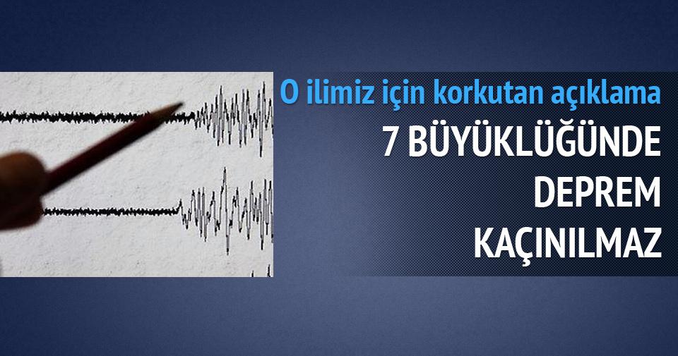 Aydın için korkutan deprem uyarısı