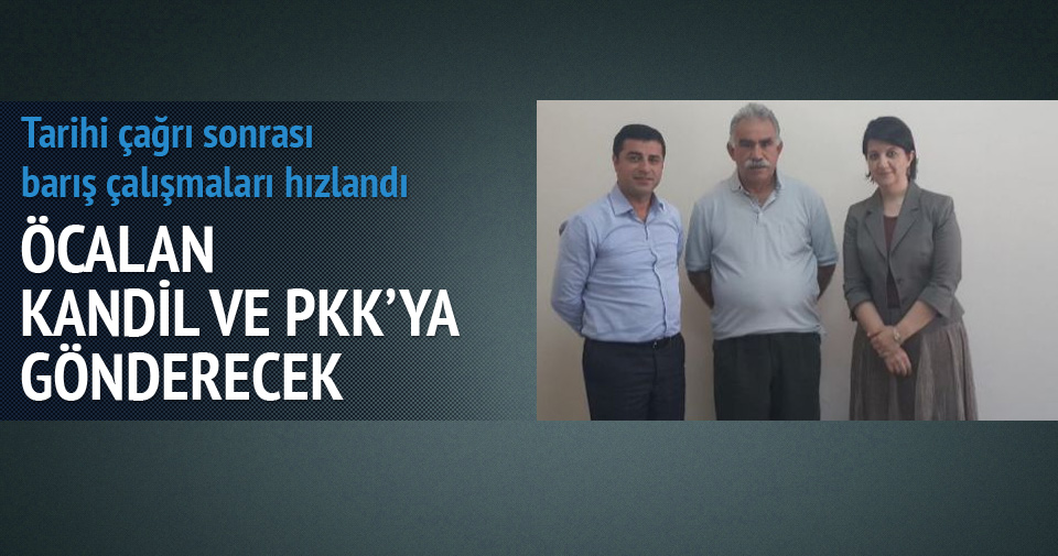 Öcalan görüntülü mesaj yayınlayacak iddiası