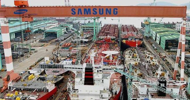 Samsung, dünyanın en büyük konteyner taşıyıcı gemisini yapacak