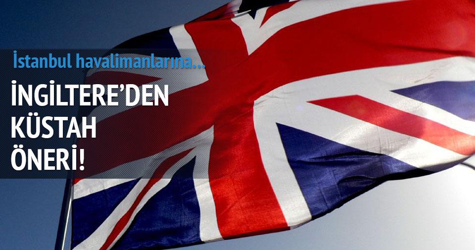 İngiltere'den küstah öneri!