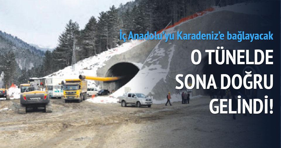 Ilgaz Dağı Tüneli'nin yüzde 60'ı tamamlandı