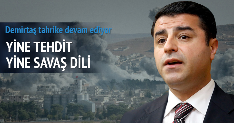 Demirtaş Bingöl Üniversitesi rektörünü tehdit etti