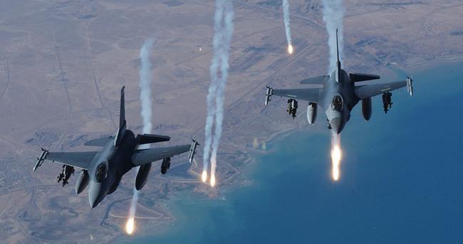 F-16'lar sınıra 'vur' emriyle havalandı