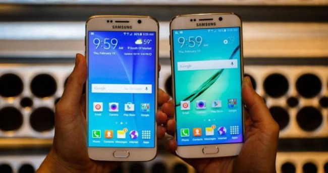 Samsung Galaxy S6 ve S6 Edge kablosuz şarj, sabit pil ve Samsung Pay ile geldi!