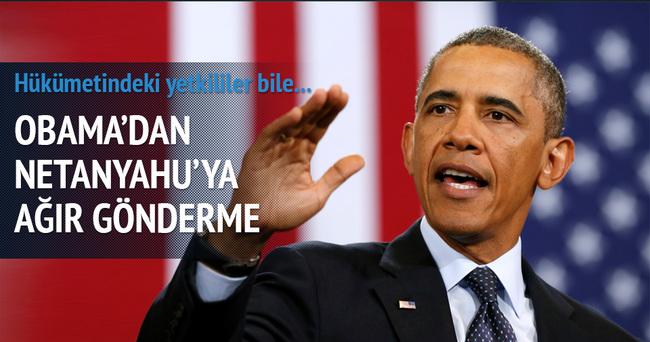 Obama, Netanyahu ile resmen dalga geçti
