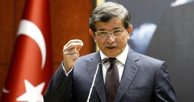 Başbakan Davutoğlu ABD yolunda