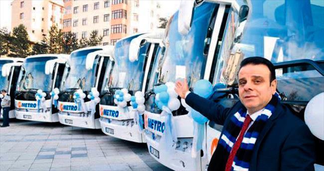 Metro Turizm'den Erzurum'a yatırım