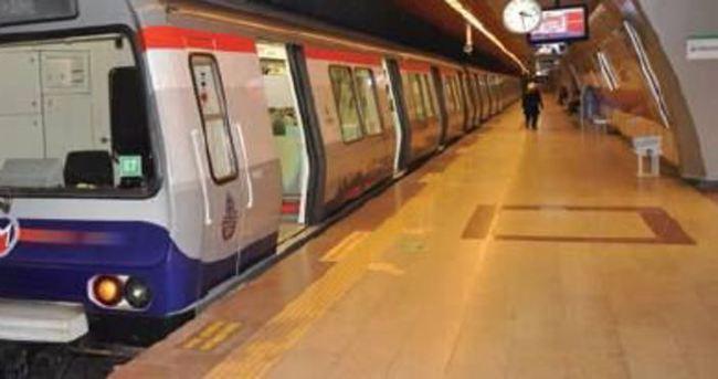 Taksim-Yenikapı metrosu raydan çıktı
