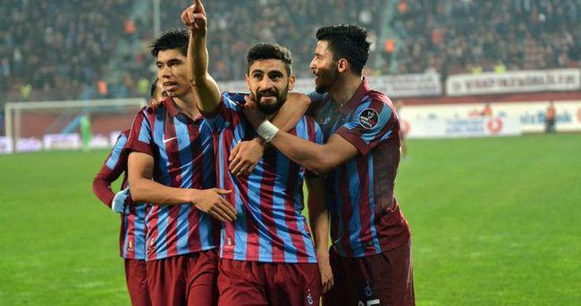 Trabzonspor, sahasında fırtına