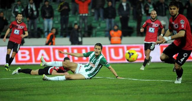 Bursaspor Gençlerbirliği maçı özet ve golleri