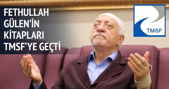 Fethullah Gülen'in kitapları TMSF'ye geçti