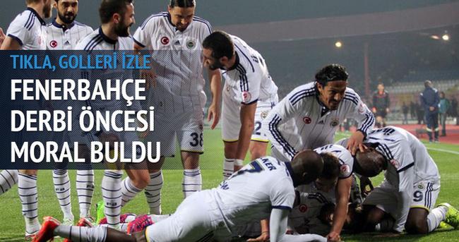 Mersin İdman Yurdu - Fenerbahçe maçı özeti ve golleri izle (Fener kupayı kayıpsız geçti)