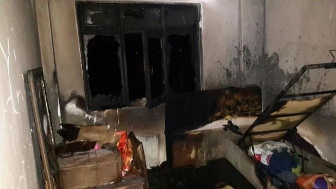 Bolu'da Korkutan Ev Yangını