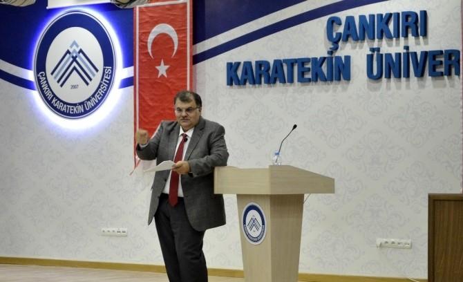 Çankırı'da 'Yeni Bir Medeniyet Mümkün MÜ?' Konulu Konferans