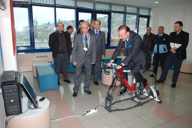 İzmit'te Simülasyonlu Bisiklet Uygulaması Başlıyor