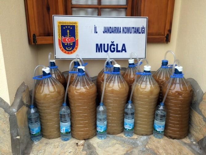 Jandarma'dan Sahte Alkol Operasyonu