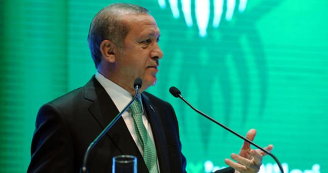 Cumhurbaşkanı Erdoğan Yeşilay'ın töreninde konuştu