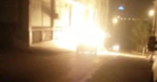 Bağcılar'da doğalgaz patladı
