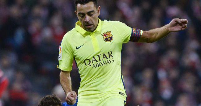 Xavi Barcelona'ya veda ediyor