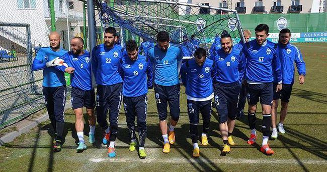 Erciyesspor'da, Gençlerbirliği mesaisi