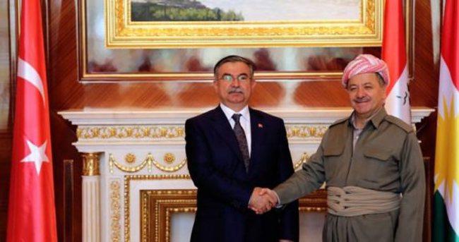 Bakan Yılmaz'dan kritik Barzani görüşmesi