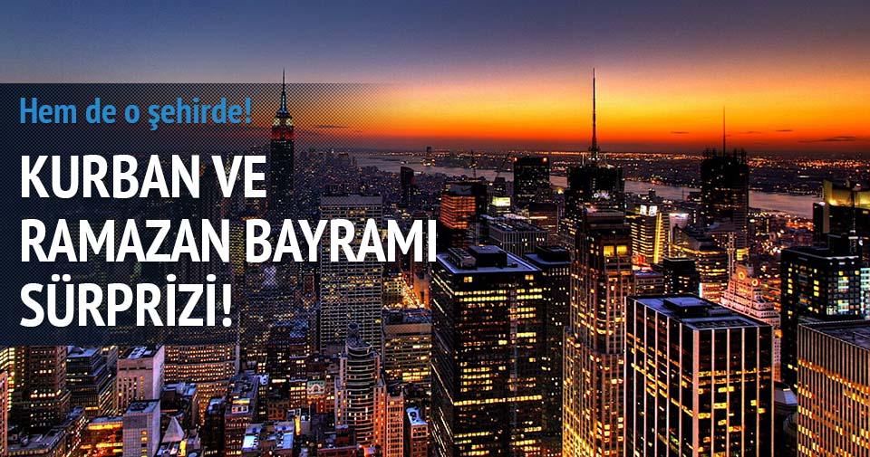 New York'ta bayram tatili!