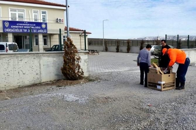 Emirdağ Belediyesi İtfaiye Amirliği'nden Yangın Tatbikatı