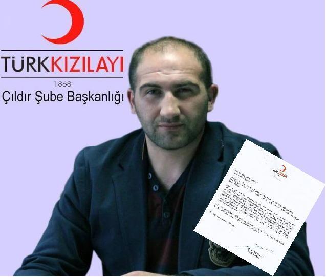 Ahmet Lütfi Akar'dan Vural'a Teşekkür Mektubu