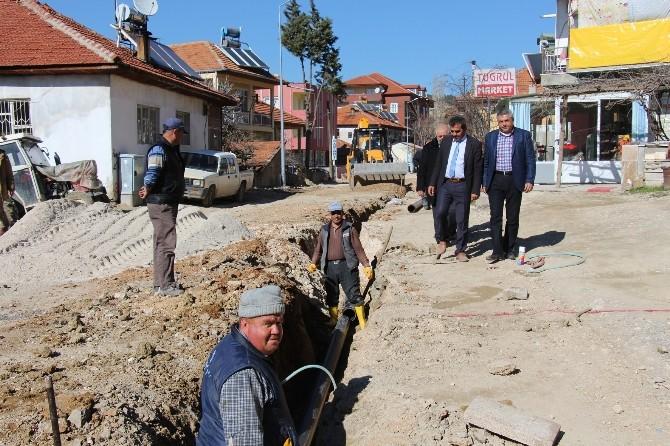 Bucak'ta Altyapı Çalışmaları