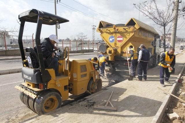 Gebze'de Asfalt Onarım Çalışması Yapıldı