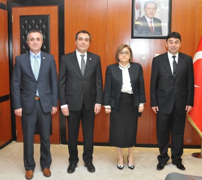 Gaplasder Yönetim Kurulu'ndan Başkan Şahin'e Ziyaret