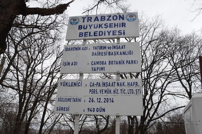 Trabzon Botanik Park'ın Yapımına Başlandı
