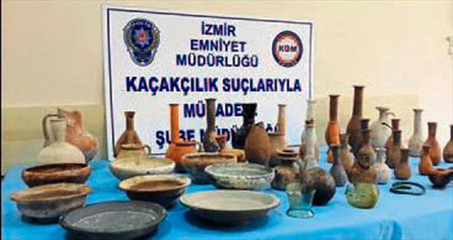 Karşıyaka'da tarihi eser operasyonu