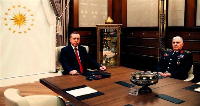 Cumhurbaşkanı Erdoğan Özel'den bilgi aldı