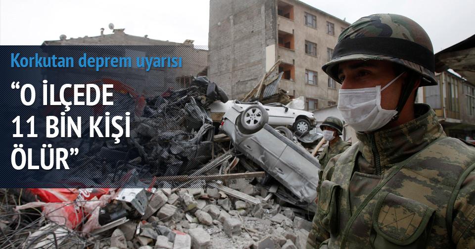 Gemlik için kritik deprem uyarısı