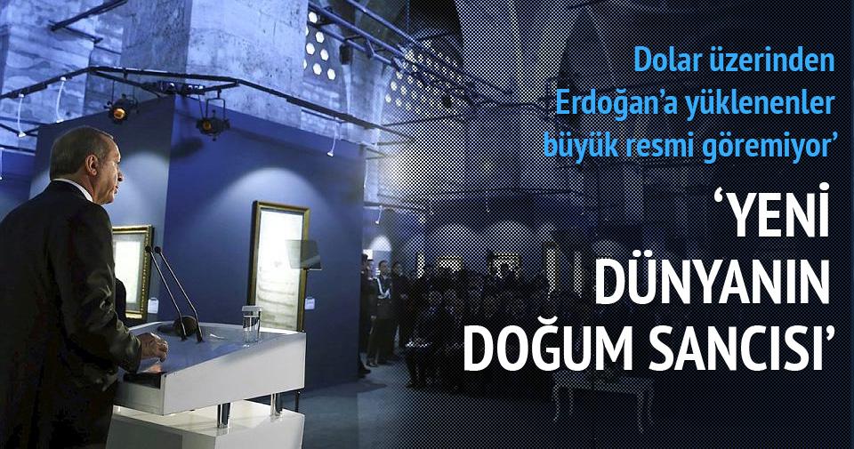 Dolar üzerinden Erdoğan'a yüklenenler büyük resmi göremiyor
