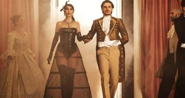 Hande Yener 5 milyon dolarlık kıyafet giydi