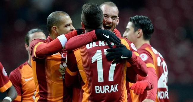 Derbide Galatasaraylıların gözü  onlarda