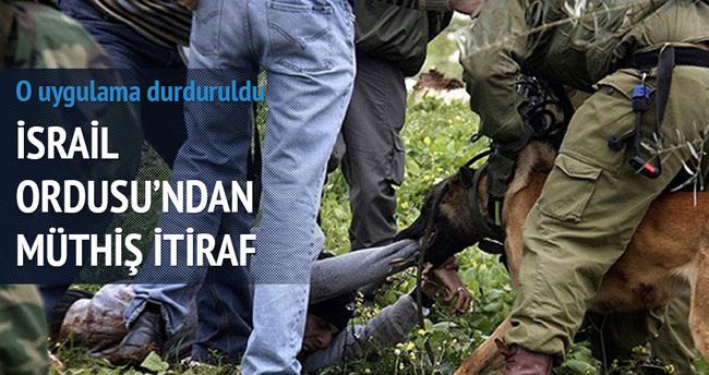 İsrail köpekli işkenceyi geçici olarak durdurdu