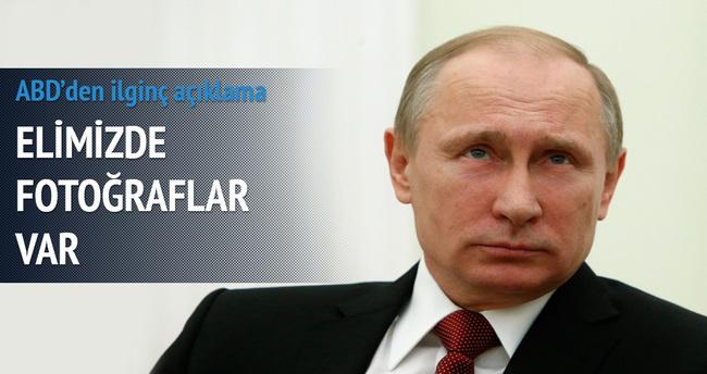 ABD: Elimizde Rusya'ya ait fotoğraflar var