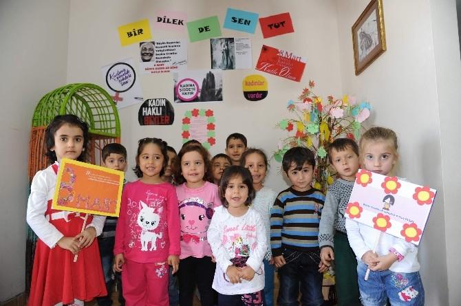 Çamlıbel'de Kadınlar Günü Kutlaması