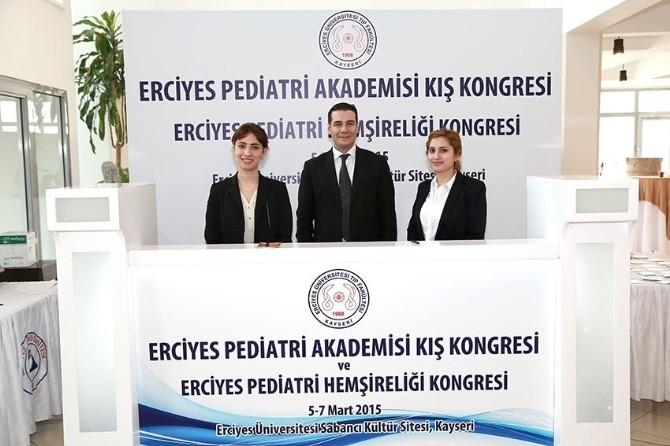 Erciyes Pediatri Akademisi Kış Kongresi Başladı